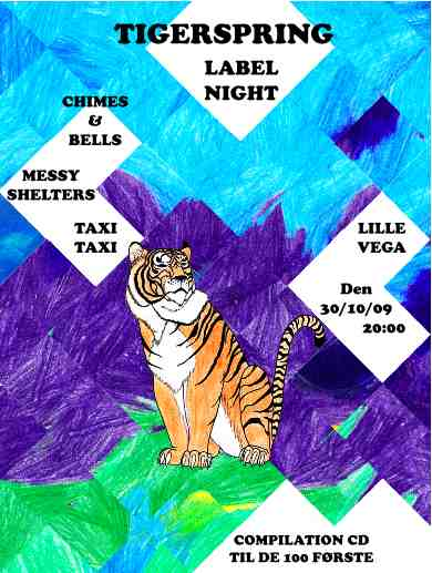 TIgerspring label night poster
